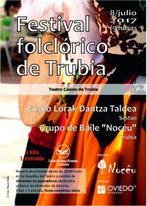 Festival folclórico de Trubia 2017
